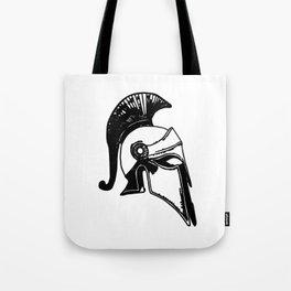 spartan helm Tote Bag