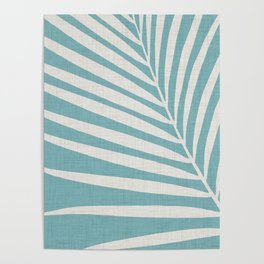 Vintage Palm Frond Poster