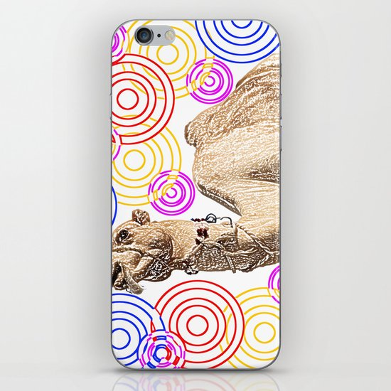 one funky camel iPhone & iPod Skin
