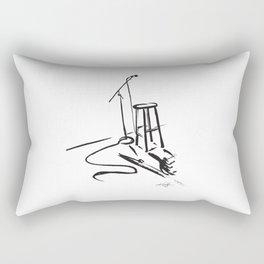 Open Mic by Kathy Morton Stanion Rectangular Pillow