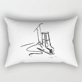 Open Mic by Kathy Morton Stanion Rectangular Pillow