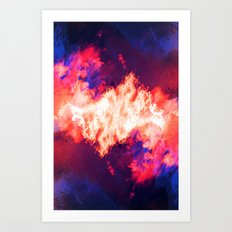SleepyHead ~ Analog Zine Art Print
