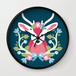 Baltimore Woods Deer Wall Clock