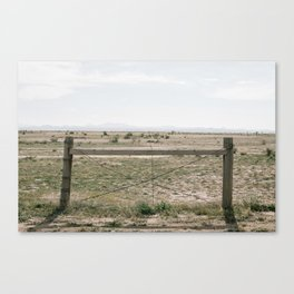 the parking lot of life Canvas Print