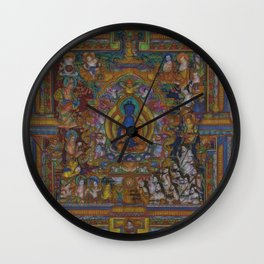 The Medicine Buddha Wall Clock
