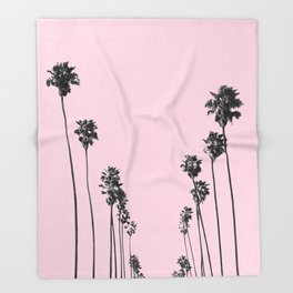 Palm trees 13 Throw Blanket