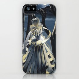 The Distraught Infanta Surrealist Painting iPhone Case