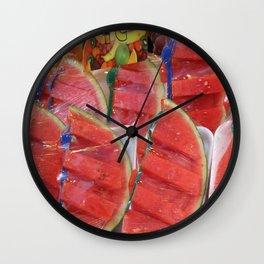 Sandías Wall Clock