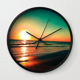 Rota Spain Beach Wall Clock