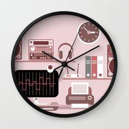 Modern Workplace Wall Clock
