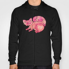 Watercolor Raccoon – Pink Palette Hoody