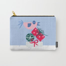Christmas Birds : Self Gifting Carry-All Pouch