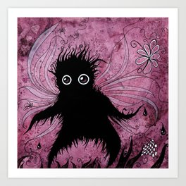Windswept Monster Art Print