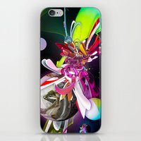 runner iPhone & iPod Skins featuring Splash Runner by Andre Villanueva