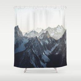 Mountain Mood Shower Curtain