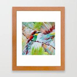 Flit Framed Art Print