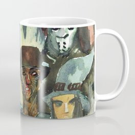 monsters watercolor squad Coffee Mug