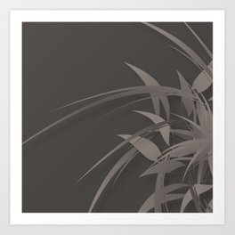 Sprite (Steel) Art Print