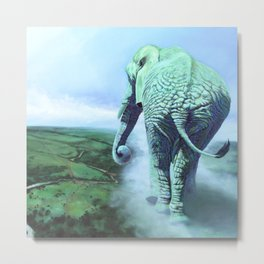 Terra Mater, Elephant of the Earth Mother Metal Print