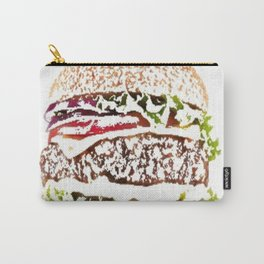 hamburger painted picture Carry-All Pouch