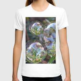 Flower bubbles T-shirt
