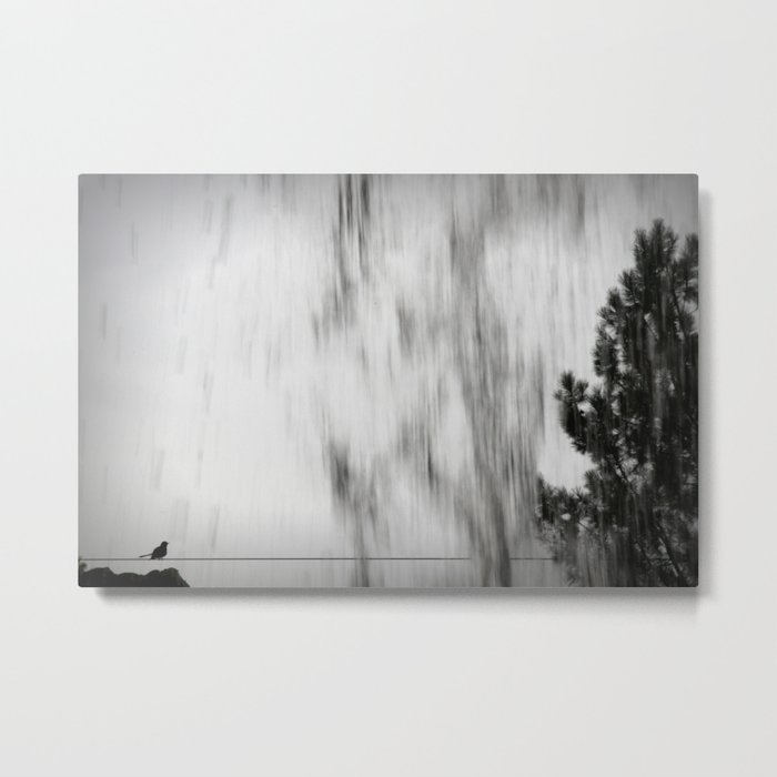 there was a little bird... Metal Print