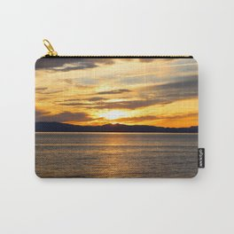 The Golden Sunset Over Quebec Carry-All Pouch