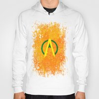 aquaman Hoodies featuring Aquaman by Some_Designs