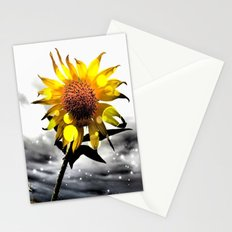 Solar Flower Stationery Cards