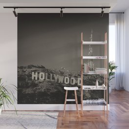 Vintage Hollywood sign Wall Mural