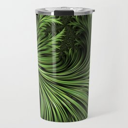 Fractal Art: Variegated Leaf Travel Mug