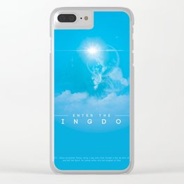 Enter The Kingdom Clear iPhone Case