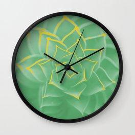 Pastell Flower Wall Clock