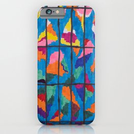 Sunset in a Grid iPhone Case