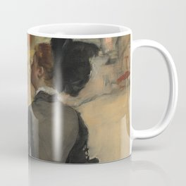 Woman Viewed from Behind (Visit to a Museum) Coffee Mug