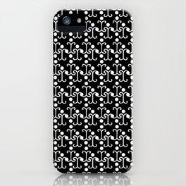 Lattice Pattern (White) iPhone Case