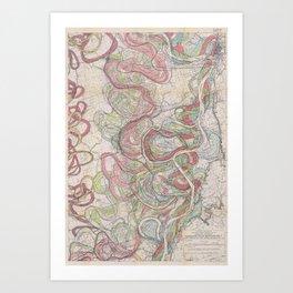 Harold N. Fisk Plate 22-11 Art Print