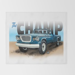 The Champ Throw Blanket