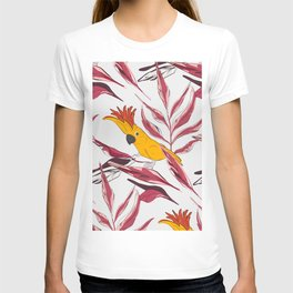 Parrot yellow jungle T-shirt