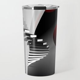 go upstairs -2- Travel Mug