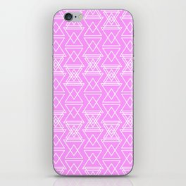RIGHT AND WRONG III: PINK NIGHTMARE iPhone Skin