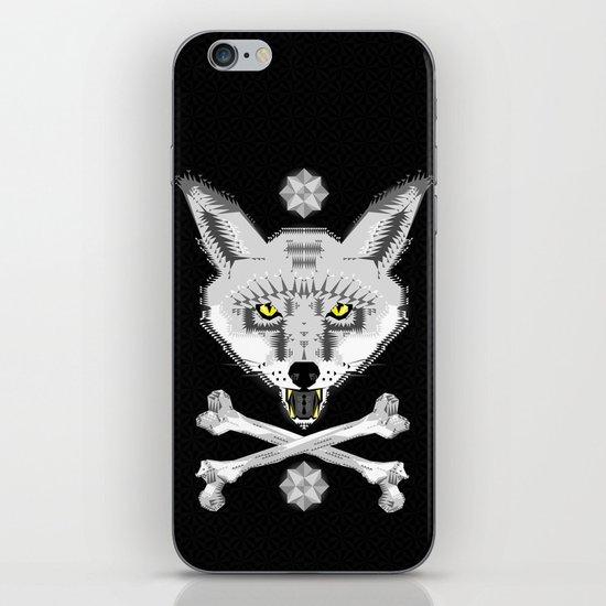 Silver Fox Geometric iPhone & iPod Skin