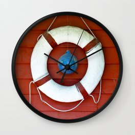 Life Buoy Wall Clock