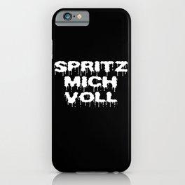 Spray Me Full iPhone Case