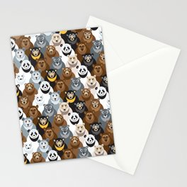 Bears Bears Bears Stationery Cards
