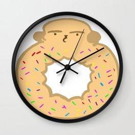 Bovi-doughnut Wall Clock