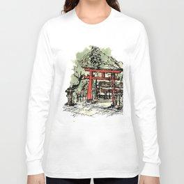 Yoshida Jinja Long Sleeve T-shirt
