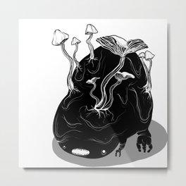 MUSH Metal Print