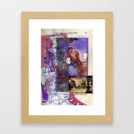 Shine Over All the World Framed Art Print