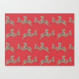 Royal Tenenbaums Wallpaper Canvas Print